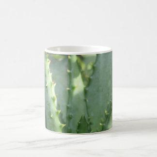 サボテンの植物のマグ コーヒーマグカップ