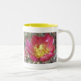 サボテンの花 ツートーンマグカップ