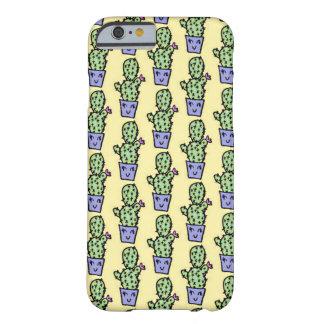 サボテンパターンiPhone6ケース Barely There iPhone 6 ケース