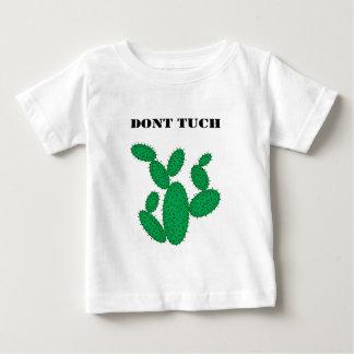 サボテン-触れないで下さい ベビーTシャツ