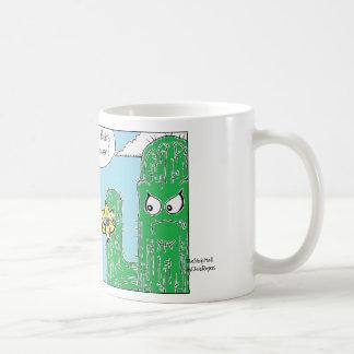 サボテン、TheStripMallbyChrisRogers コーヒーマグカップ