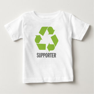 サポータのリサイクル ベビーTシャツ