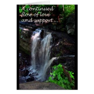 サポートの流れ カード