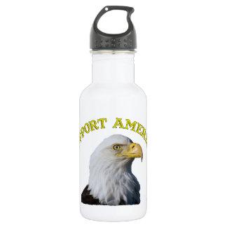サポートアメリカのワシの自由のボトル ウォーターボトル
