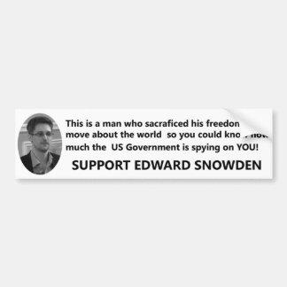 サポートエドワードSnowden バンパーステッカー