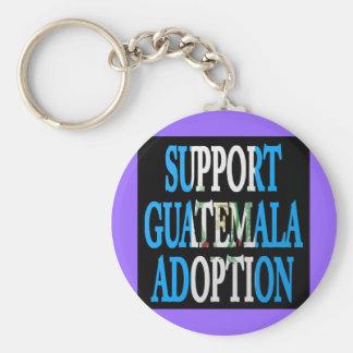 サポートグアテマラの採用 キーホルダー