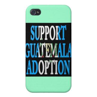 サポートグアテマラの採用 iPhone 4/4Sケース