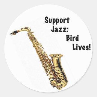 サポートジャズ: 鳥の生命 ラウンドシール