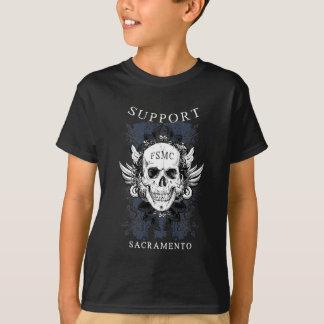 サポートスカル02 Tシャツ