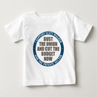 サポートスコットの歩行者 ベビーTシャツ
