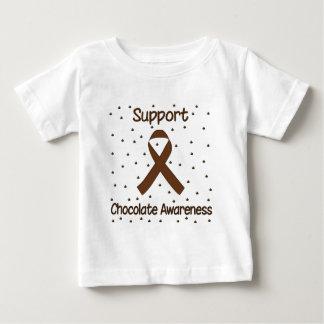 サポートチョコレート認識度のTシャツ ベビーTシャツ