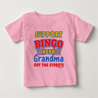 サポートビンゴの祖母 ベビーTシャツ