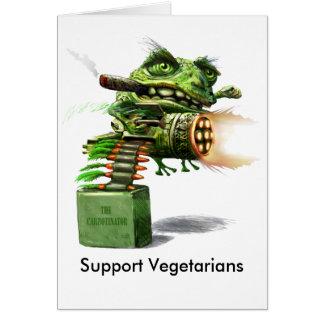 サポートベジタリアン カード