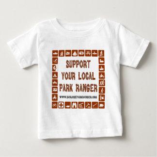 サポート公園管理者 ベビーTシャツ