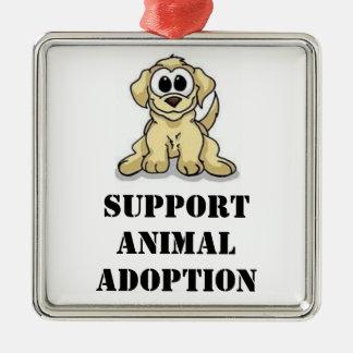 サポート動物の採用のオーナメント メタルオーナメント