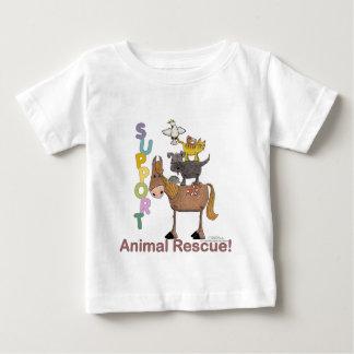 サポート動物の救助 ベビーTシャツ