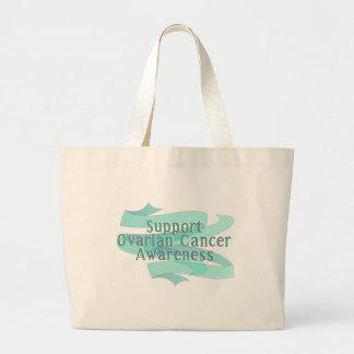 サポート卵巣癌の認識度 ラージトートバッグ