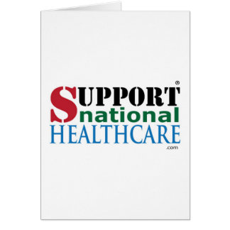 サポート国民のヘルスケアプロダクト カード
