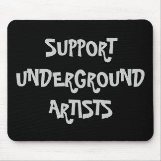 サポート地下の芸術家のマウスパッド マウスパッド