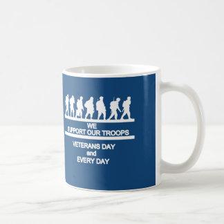 サポート復員軍人の日のマグ コーヒーマグカップ