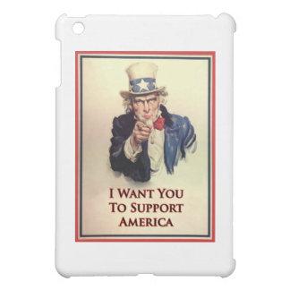 サポート米国市民ポスター iPad MINIカバー