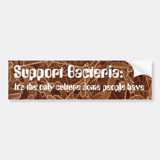 サポート細菌 バンパーステッカー