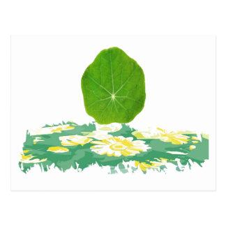 サポート緑は、惑星を救います ポストカード