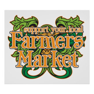 サポート農家の市場 ポスター