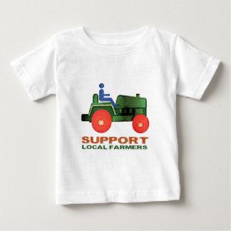 サポート農家 ベビーTシャツ