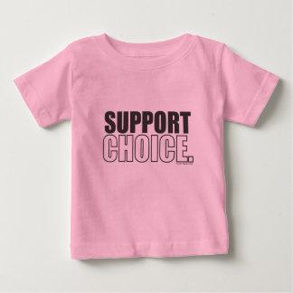 サポート選択 ベビーTシャツ