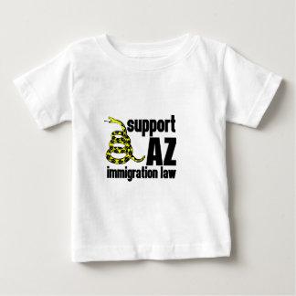 サポートAZ移住の法律 ベビーTシャツ