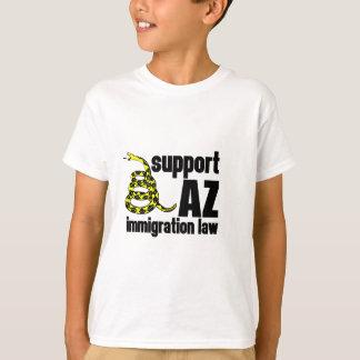 サポートAZ移住の法律 Tシャツ
