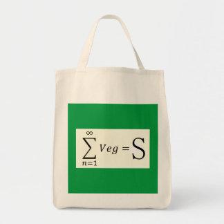 サポートVegSの食料雑貨の戦闘状況表示板 トートバッグ