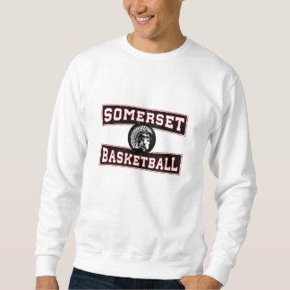 サマセット州のバスケットボールのヘビー級選手のスエットシャツ スウェットシャツ