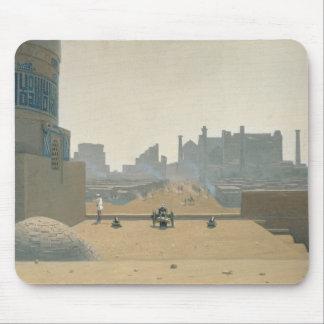 サマルカンド、早朝1869-70年のメイン・ストリート マウスパッド