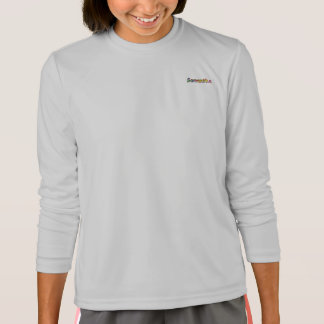 サマンサのスポーツTekの長袖のTシャツ Tシャツ