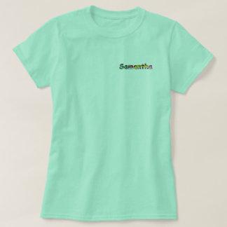 サマンサの女性の基本的なTシャツ Tシャツ