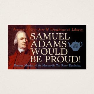 サミュエル・アダムズの名刺 名刺