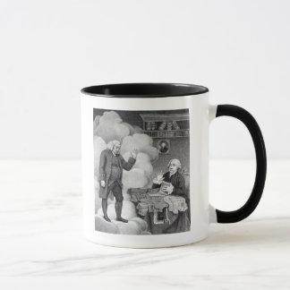 サミュエル・ジョンソンのBoswellそして幽霊 マグカップ