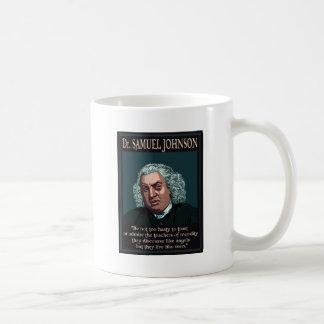サミュエル・ジョンソン先生 コーヒーマグカップ
