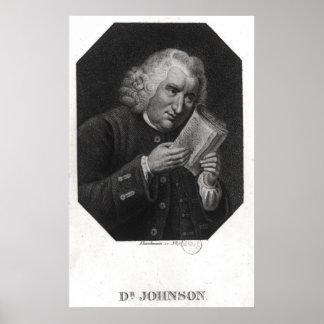 サミュエル・ジョンソン先生 ポスター