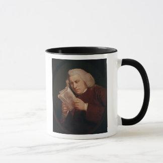 サミュエル・ジョンソン1775年先生 マグカップ
