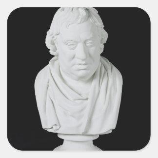サミュエル・ジョンソン(1709-84年) 1777年(プラスター) スクエアシール