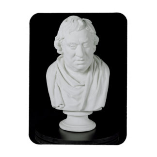 サミュエル・ジョンソン(1709-84年) 1777年(プラスター) マグネット