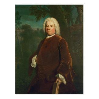 サミュエル・リチャードソン1747年 ポストカード