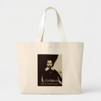サミュエルde Champlain Landの検査官 ラージトートバッグ