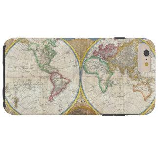 サミュエルDunn 1794年著世界の一般図 Tough iPhone 6 Plus ケース