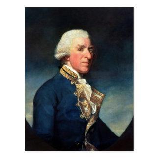 、サミュエルHood海軍大将Hood 1784年第1子爵 ポストカード