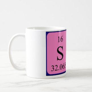 サムの周期表の名前のマグ コーヒーマグカップ