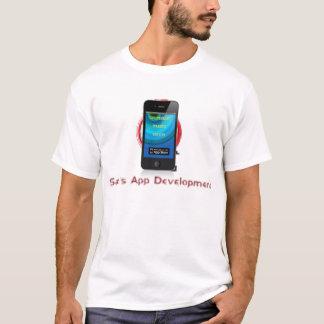 サムのAppの開発のTシャツ Tシャツ